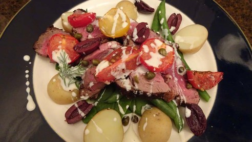 Sumac and Garlic Lamb - Recipe Feature Image