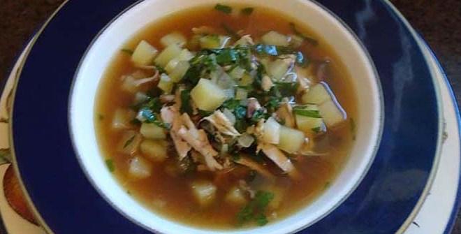 Chard Chicken And Potato Soup Sba S Kitchen