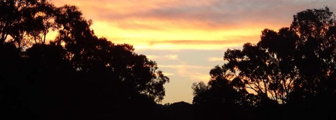 Sunset at Navarre