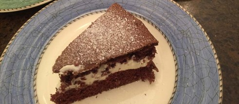 Nana's Chocolate Cream Cake - 1 – Version 2