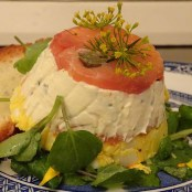 moked Salmon and Egg Terrine