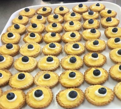 Lemon Curd Tarts - Gluten Free