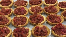Rhubarb & Orange Tarts - Gluten Free
