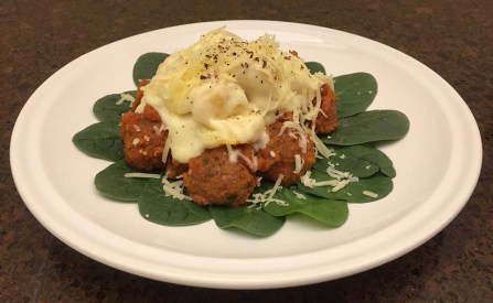 Meatballs with Gnoccie & Cheese Sauce - 2