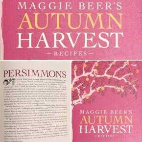 Persimmons in Maggie Beer's Autumn Harvest