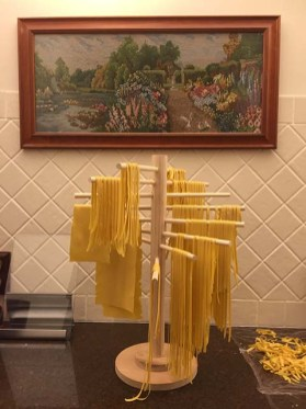 The loaded pasta tree