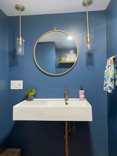 Half Bathroom Renovation – Fairfax, VA
