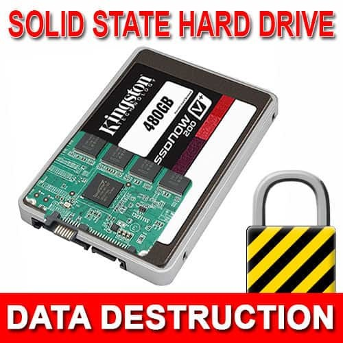 Solid State Drive Data Destruction