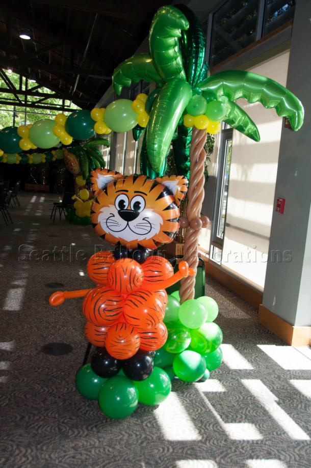 Safari Themed Birthday Party Decorations
