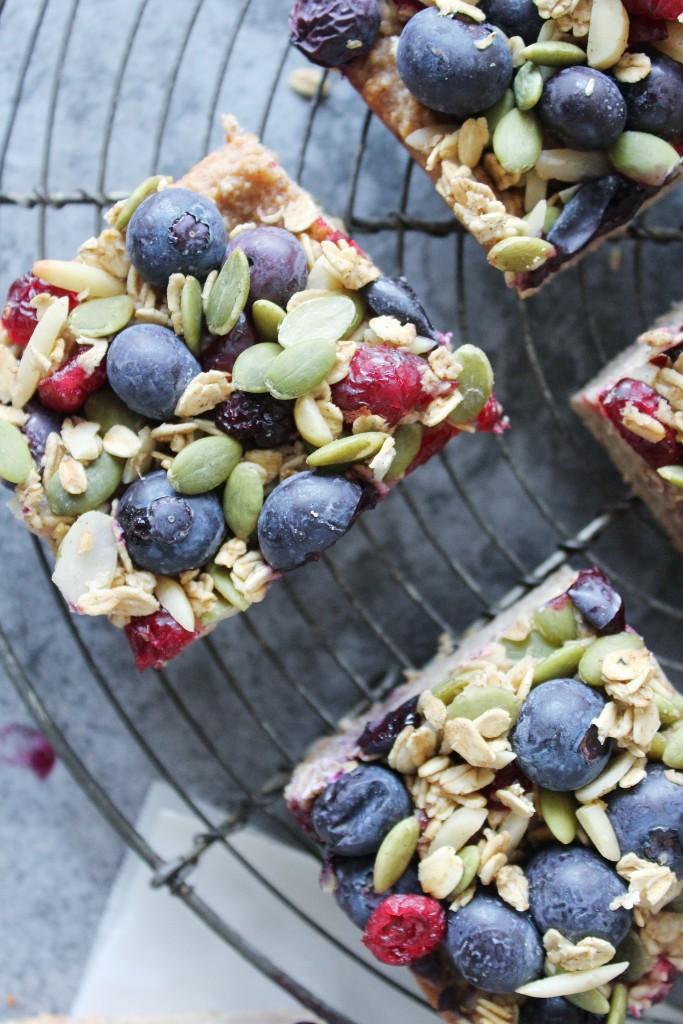 Gluten and Dairy Free Breakfast Bars