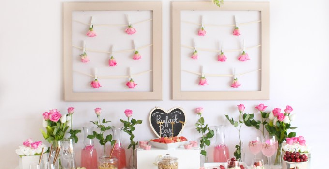 A Galentine's Day Parfait and Paint Party
