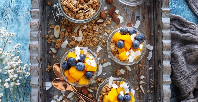 Maple Vanilla Coconut Almond Granola