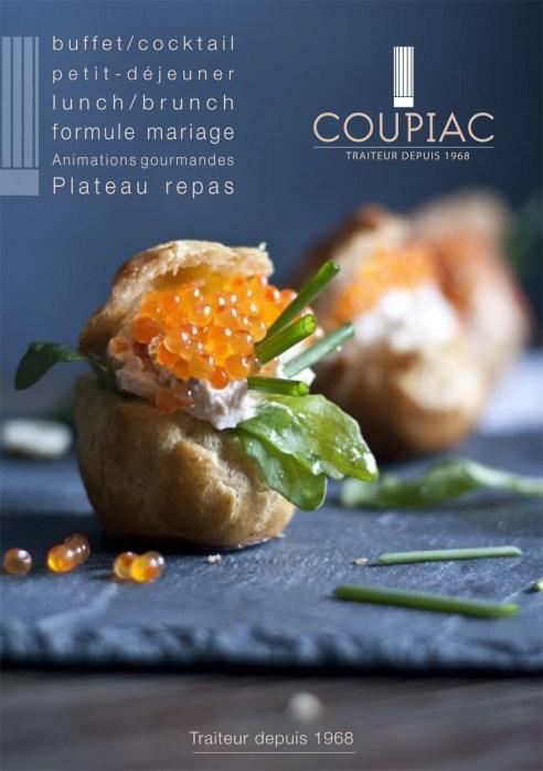 flyer traiteur Coupiac