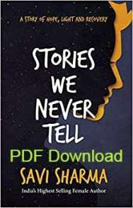 Stories We Never Tell Book PDF