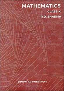 Mathematics for Class 10 PDF by R D Sharma