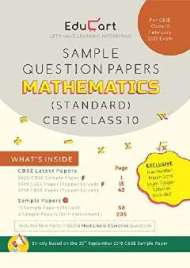 Educart CBSE Sample Question Papers Class 10 Mathematics PDF