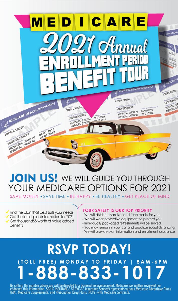 2021 Annual Enrollment Period Benefit Tour 10-20-2020 - Modesto, CA 1