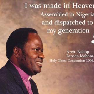 Download ArchBishop Benson Idahosa's Sermons