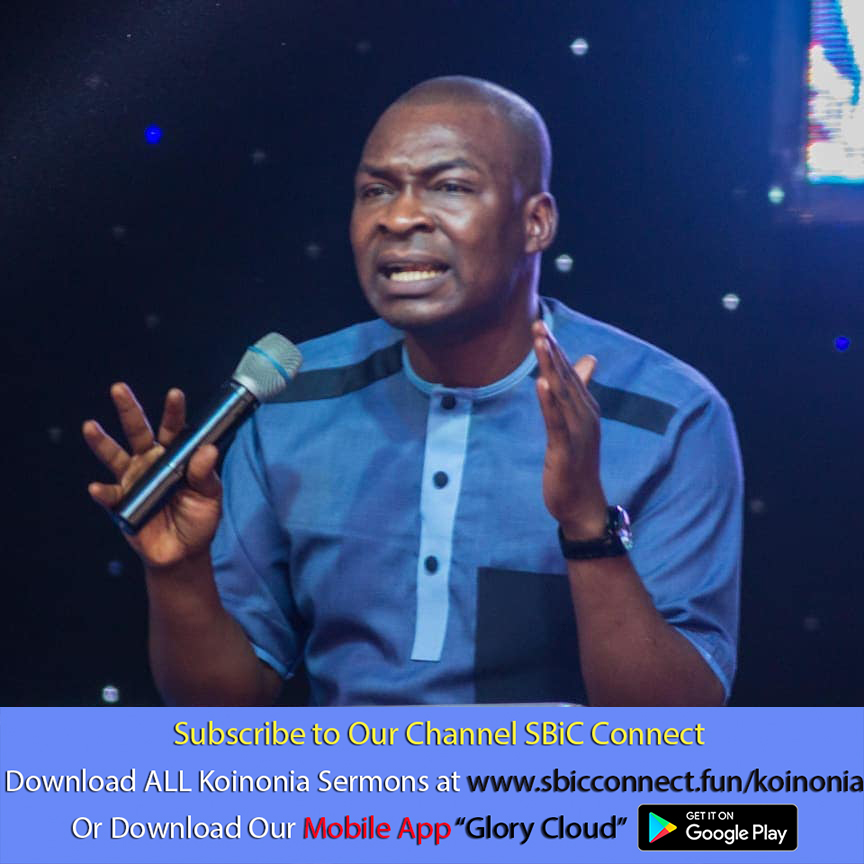 Download The Account Before Genesis Chapter One Podcast Koinonia with Apostle Joshua Selman Nimmak