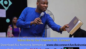 Download What Keep Anointed Limited Podcast Koinonia with Apostle Joshua Selman Nimmak
