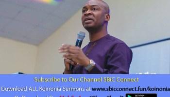 Download What To Do While Waiting For Marriage Podcast Koinonia with Apostle Joshua Selman Nimmak