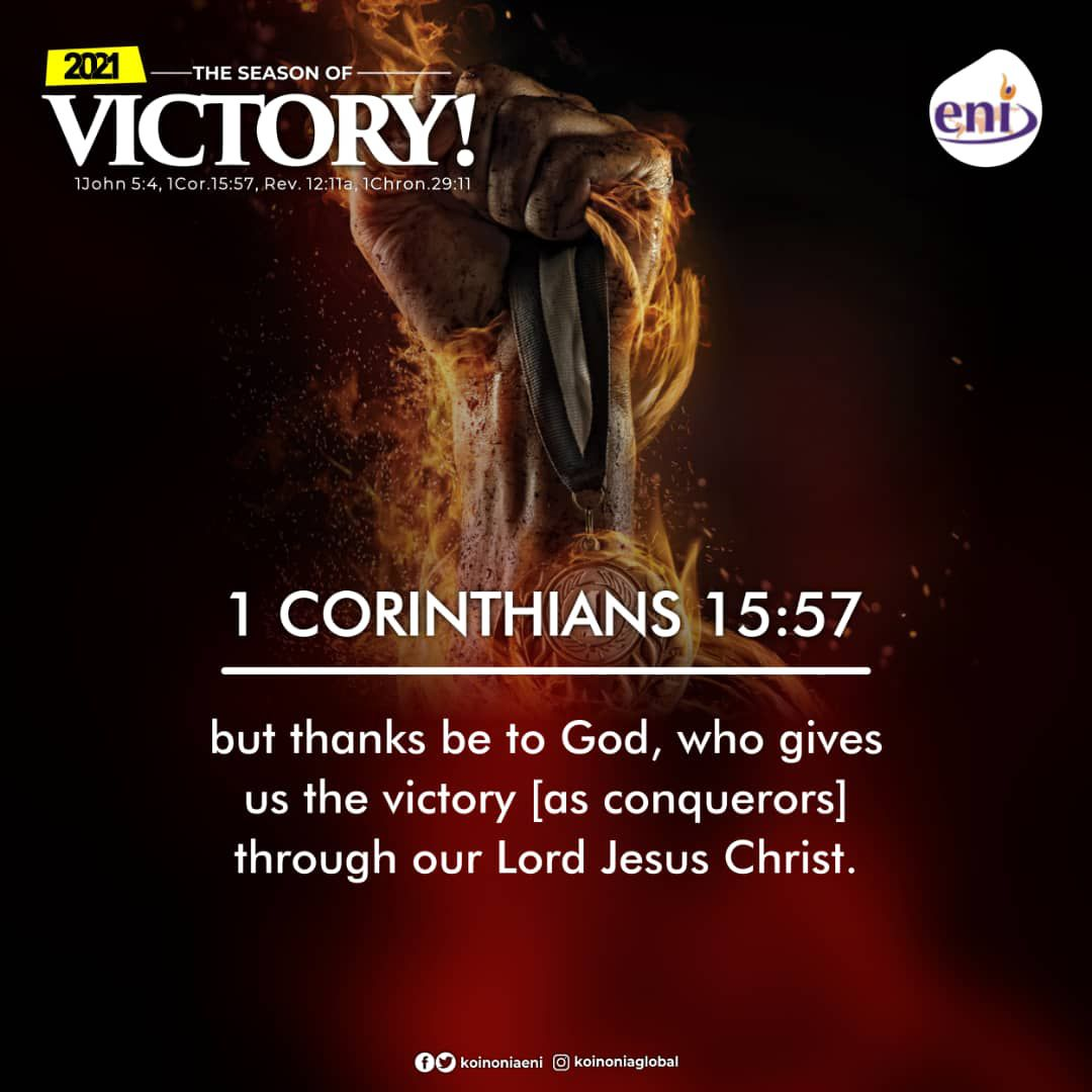 Koinonia Word For 2021-THE SEASON OF VICTORY Apostle Joshua Selman Nimmak