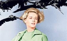 But she wouldnt be broken she tells John Hiscock Tippi Hedren . _Bye_Sorry_Get_er_Done_Stick_Bird