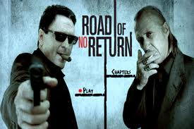Road of No Return's DVD cover stars gravel-voiced Michael Madsen and martial arts master David Carradine, in this quirky DVD cover about two chain-smoking ...