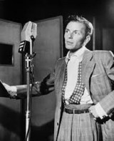 Sinatra at the Liederkranz Hall in New York, 1947