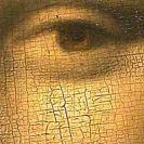 craqueleur on Mona Lisa painting