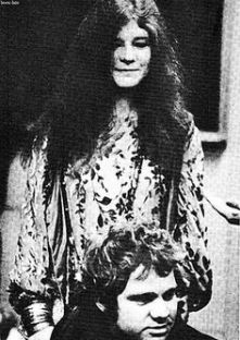 Janis Joplin her with Michael J. Pollard from Hippie, Piece of My Heart