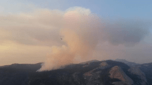 Tenaya fire, new er at Yosemite. Ugh