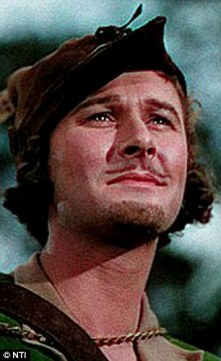 Under the hammer Or Of The boots famously worn by heartthrob Errol Flynn in the 1938 film The Adventures Of Robin Hood are being auctioned off in Nottingham this--But, of the middle, could I get your attn