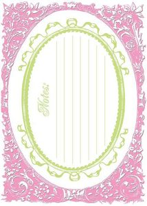 Pinky Cardstock Frame