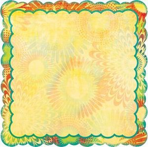 Flower Child Psychedelic Die Cut by Bo Bunny
