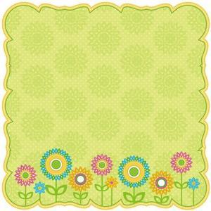 Bloomin' Garden Die-cut Paper - Jubilee By Best Creation