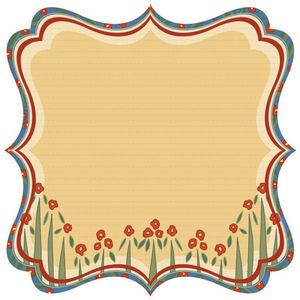 Wild Flowers Die-cut Paper By Best Creation