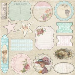 Cest La Vie Collection Die Cuts - Melissa Frances