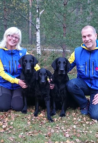 Ulrika och Tomas Hedberg :