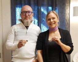 Anders Augustsson och Malin Nimrodsson Ögren