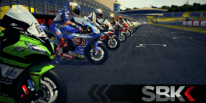 Mobile bikers on the starting grid of our Closed Beta!