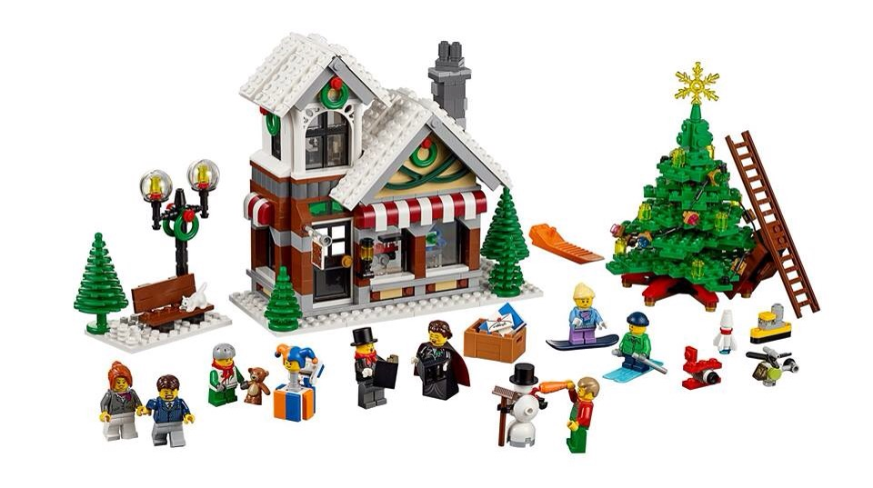 LEGO Winter Toy Shop Makes A Come Back For Christmas