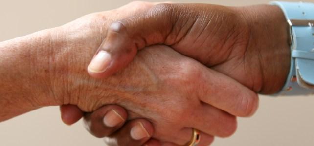 shaking hands 1237145