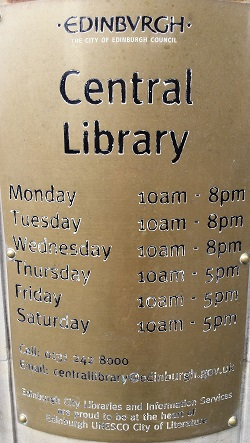 Central Library Sign cropped & resized