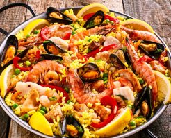 Paella Recipe Photo