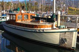 The Ranger - Classic Fishing Yacht