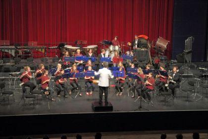 Jugendorchester beim Jahreskonzert 2012