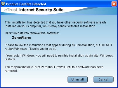 eTrust Internet Security Suite - 8