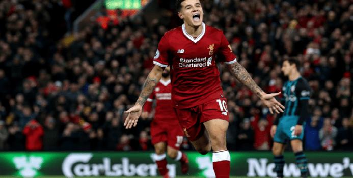 Hasil Pertandingan Kekalahan Sang Tuan Rumagh Brighton 1 - 5 Liverpool