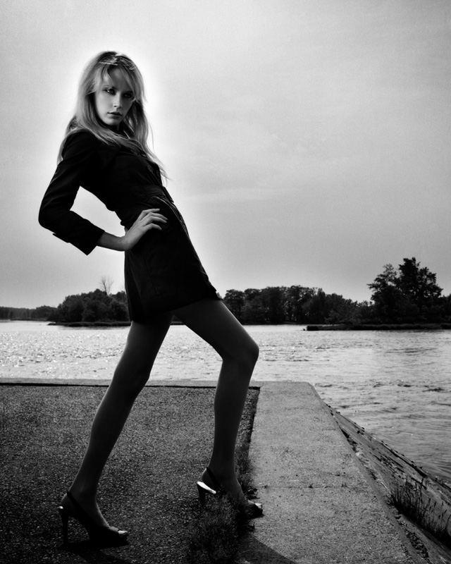 Photo de mode de Christiane L à Sainte-Anne-de-Bellevue par Stéphane Bourriaux Photographe